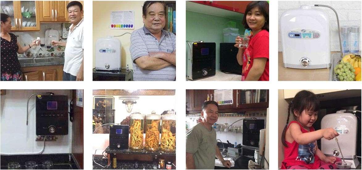 Rất nhiều người đã tin dùng máy tạo nước pi Biontech